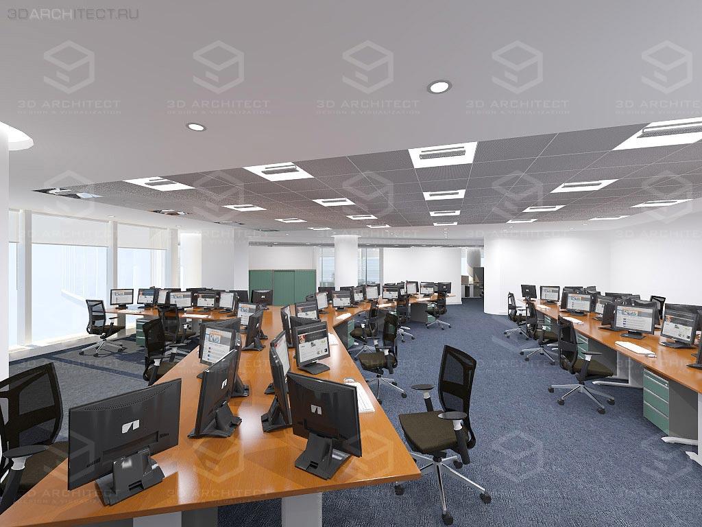 Дизайн интерьера офиса минск