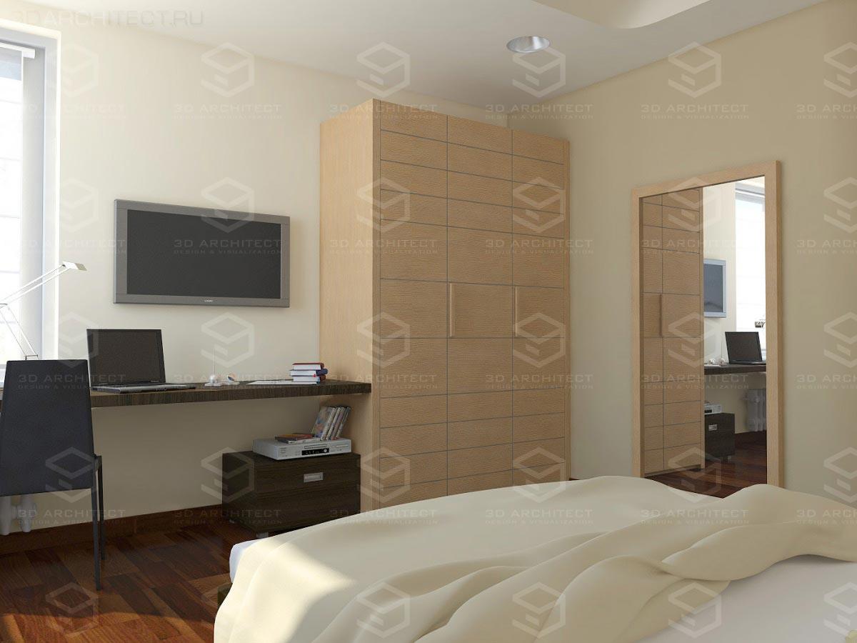 3d-дизайн интерьера квартиры
