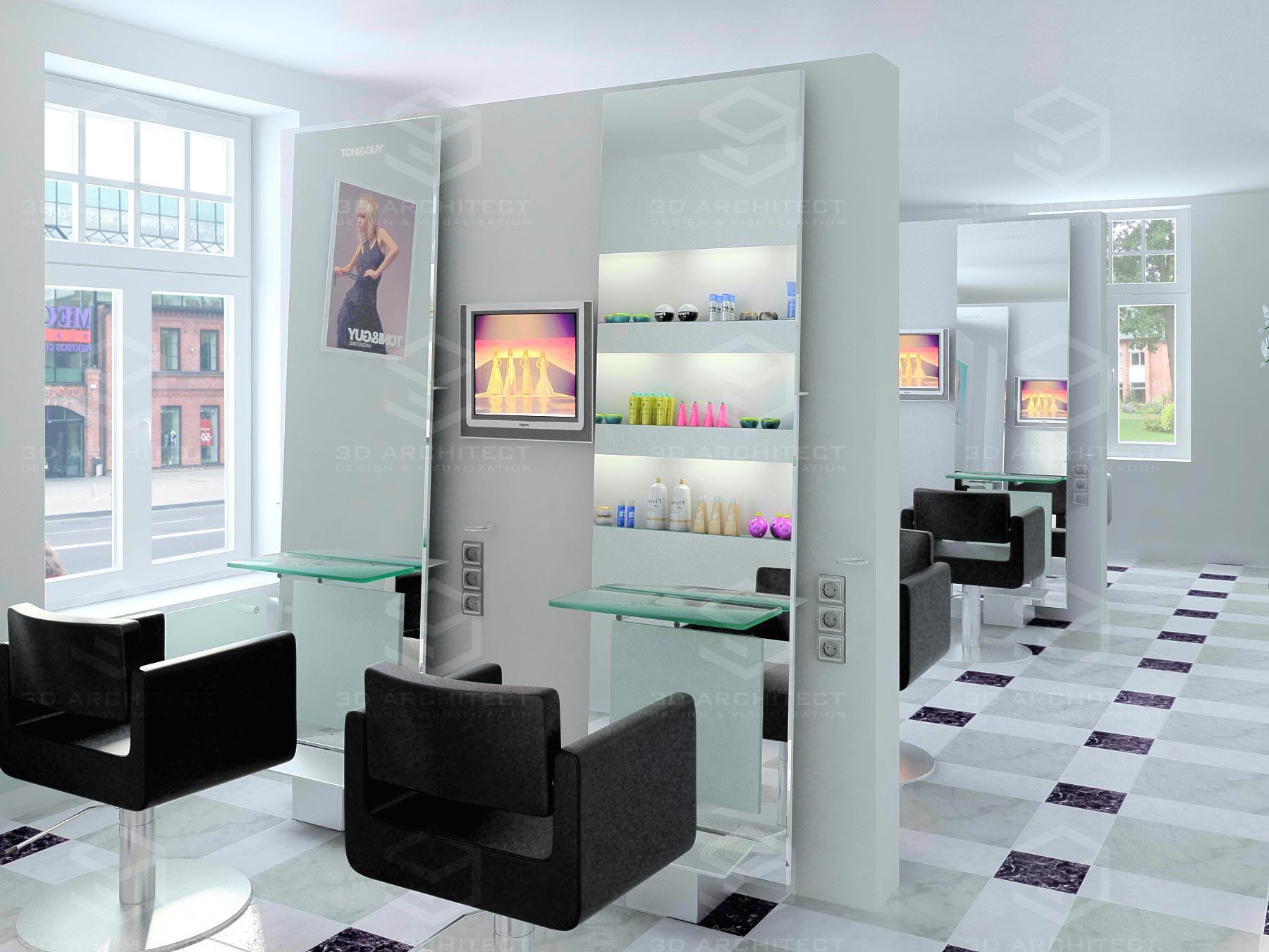 Дизайн парикмахерской своими руками