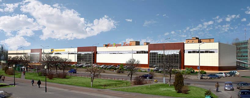 3D торговый центр в Гомеле