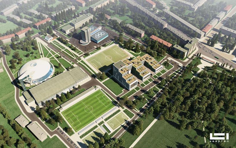 Спортивный комплекс с гостиницей для спортсменов