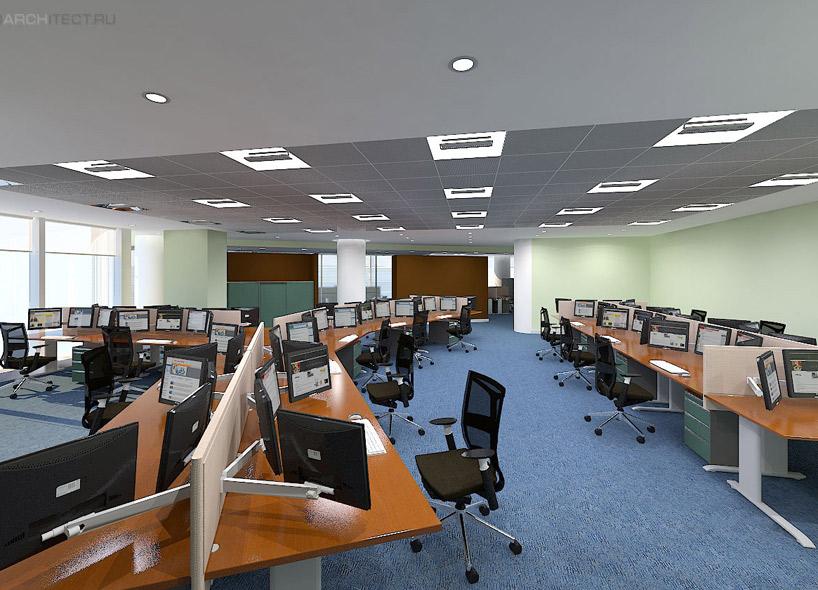 архитектурный проект москва сити moskow-city интерьер бизнес-центра Визуализация интерьера 3d графика виртуальный тур