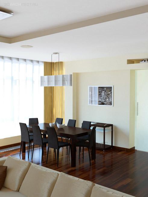 дизайн-проект визуализация дизайнерское решение квартиры