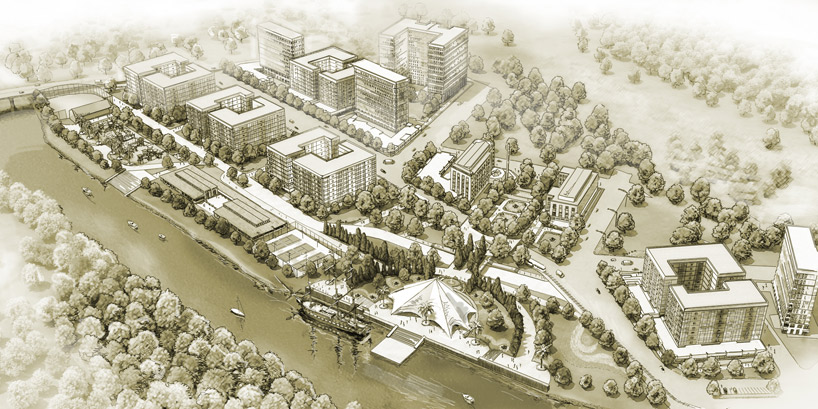 архитектурная подача презентационные материалы трехмерная визуализация