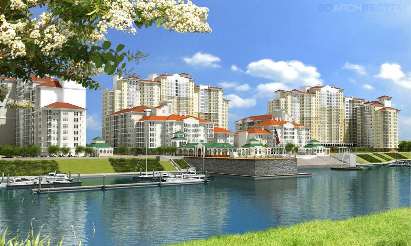 Визуализация инвестиционного проекта развития территории