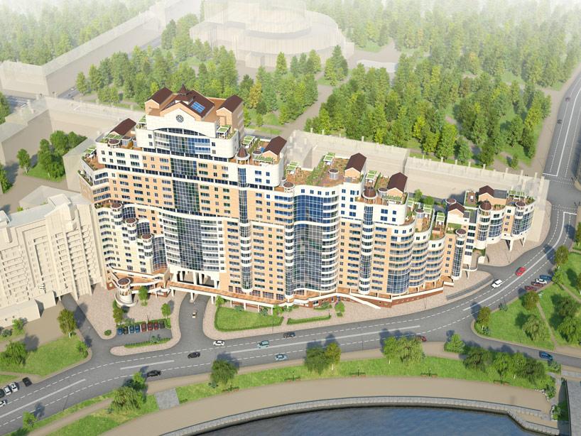 3d троицкое предместье Penthouse элитные квартиры набережная ТРАЙПЛ
