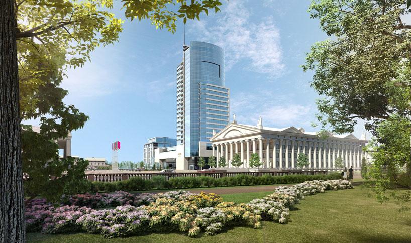 Многофункциональный комплекс повышенной комфортности на октябрьской площади в центре Минска