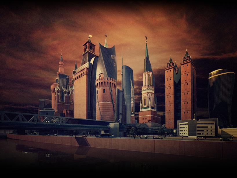 Кремль-сити 3d визуализация Архитектурная 3d визуализация визуализация архитектурных чертежей реклама недвижимости презентация архитектурного проекта маркетинг недвижимости