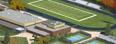3D фотография территории колледжа ALBION, штат Мичиган, США