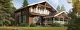 3D презентация домов из финского клееного бруса