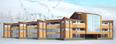 """3D-модель и визуализация горнолыжного курорта """"Манжерок"""""""
