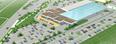 Архитектурная концепция инвестиционный проект Архитектура здания 3d паркинг автосалон продажа недвижимости