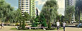 3d визуализация проекта жилого комплекса КАСКАД